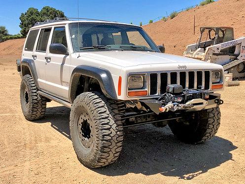 XJ Cherokee DIY Winch Bumper