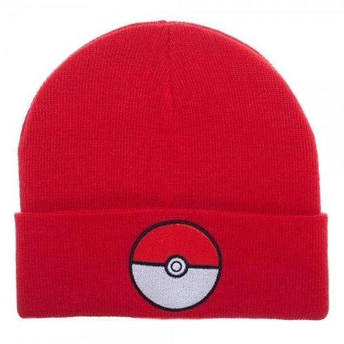 Pokemon Pokeball Red Beanie