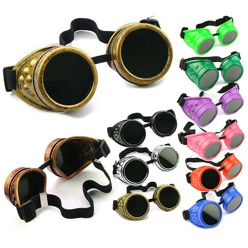 Metalworking Machinist Steampunk Goggles