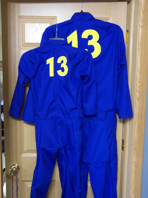 Lone Wanderer Vault Dweller Coveralls - Child Sized