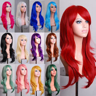 Medium-length Cosplay Costume Wig