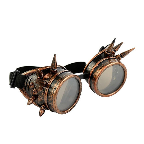 Spiked Steampunk Metalworking Machinist Goggles