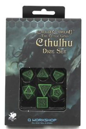 Call of Cthulhu Outer Gods Dice Set - Poly 7 Dice Set