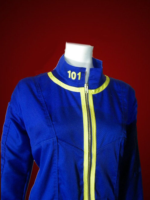 Lone Wanderer Vault Dweller Coveralls - Female Suit