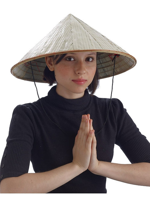 Bamboo Conical Coolie Hat