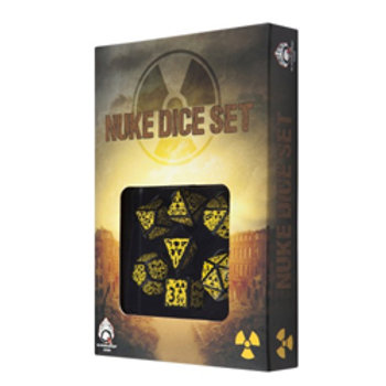 Nuke Revised Dice Set - Poly 7 Dice Set