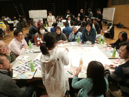 西鶴賀エリアリノベーションワークショップ開催しました