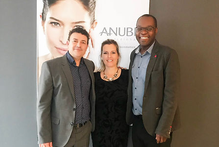Glam Group Canada with ANUBIS Cosmetics in Barcelona!