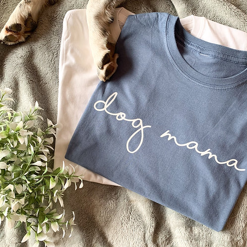 DENIM BLUE Dog Mama Tee