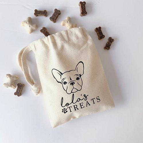 Doggy Face TREAT BAG