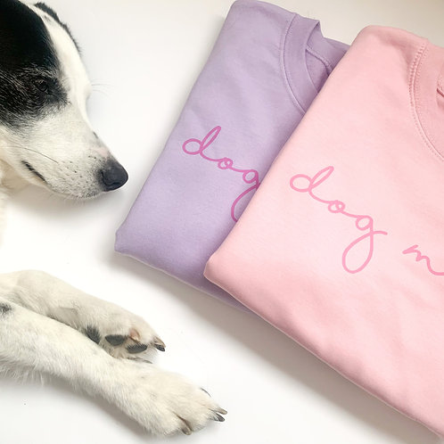 Pastel DOG MAMA Sweatshirt