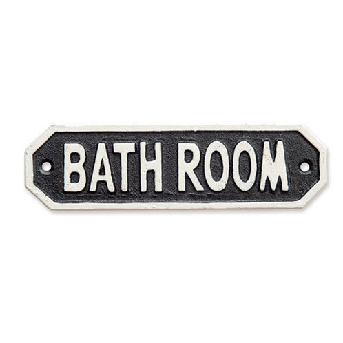 アイアンプレート BATHROOM