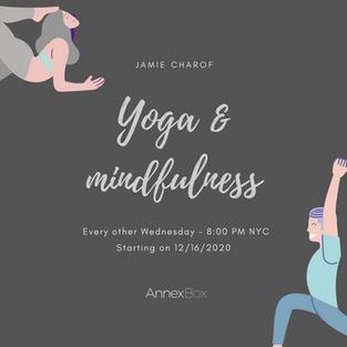 Wellness and health: Yoga & mindfullness sesions.