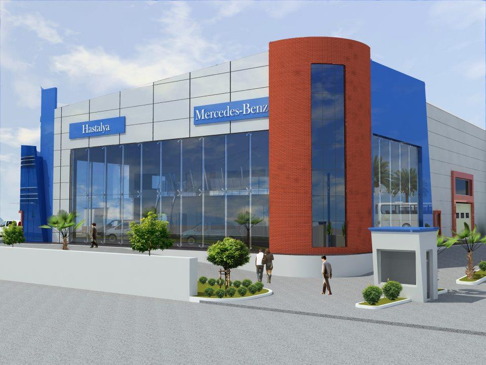 hastalya mercedes plaza tasarımı 3