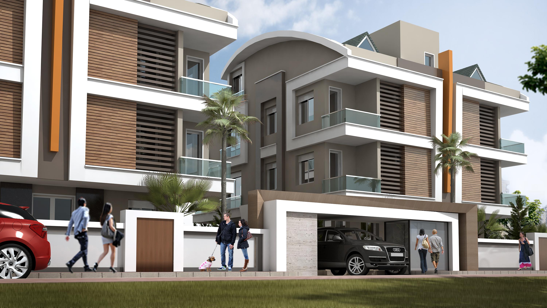 antalya konut ve apartman tasarımı