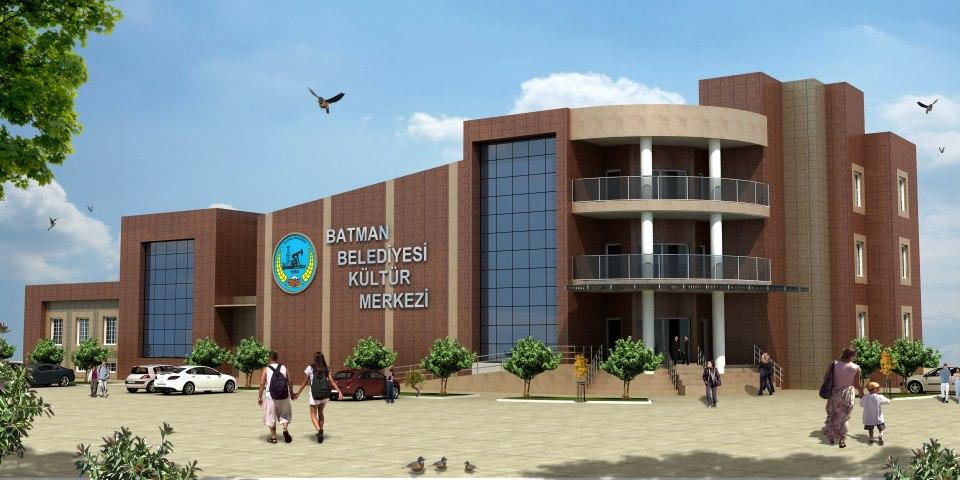 kültür merkezi tasarımı