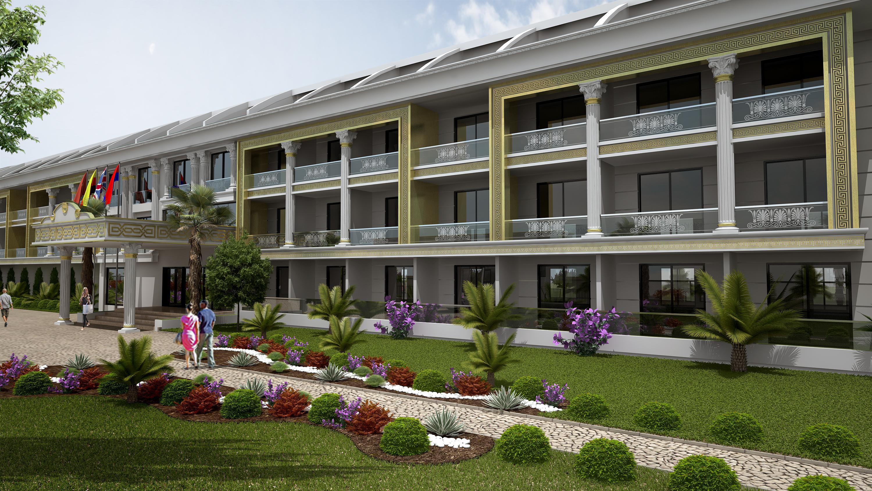 klasik otel tasarımları