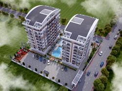 heaven garden suite cephe tasarımı