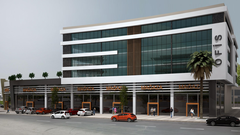 iş merkezi ve dükkan tasarımları