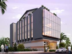 AGL inşaat plaza dış mekan tasarımı