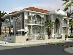 klasik villa tasarımları