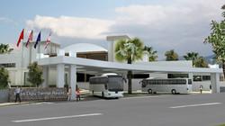 antalya otel girişi tasarımları