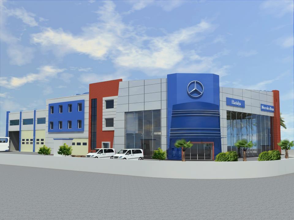 hastalya mercedes plaza tasarımı 1