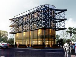 iş merkezi dış cephe tasarımı