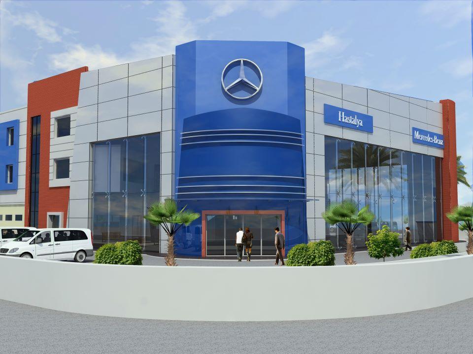 hastalya mercedes plaza tasarımı 2