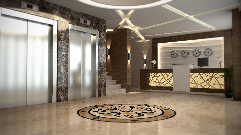 otel lobi tasarımları