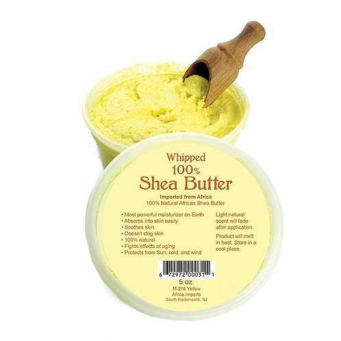 Yellow Whipped Shea Butter