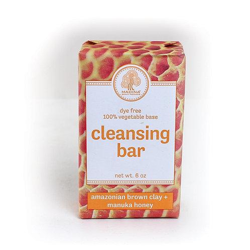 Amazonian Brown Clay & Manuka Honey Soap