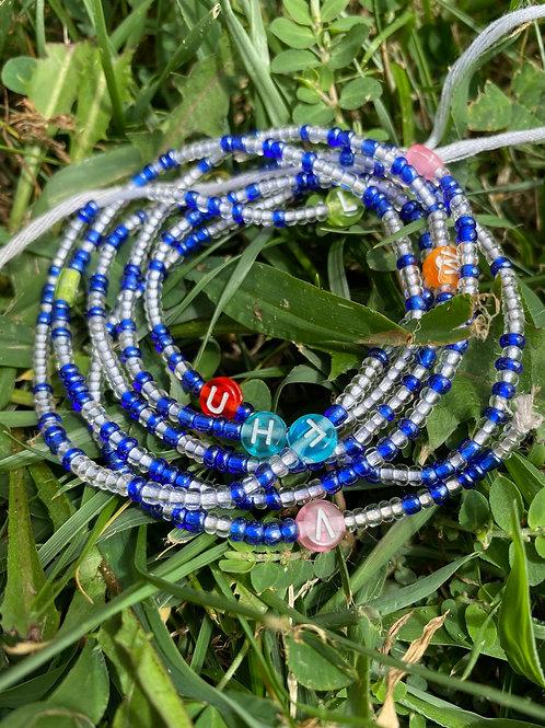 Royal Blue African Waist Beads