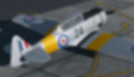 NZ1024 VH-XNZ Repaint A2A Texan P3D Kiwi