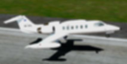 ZK-XVL Flysimware learjet35 auckland air