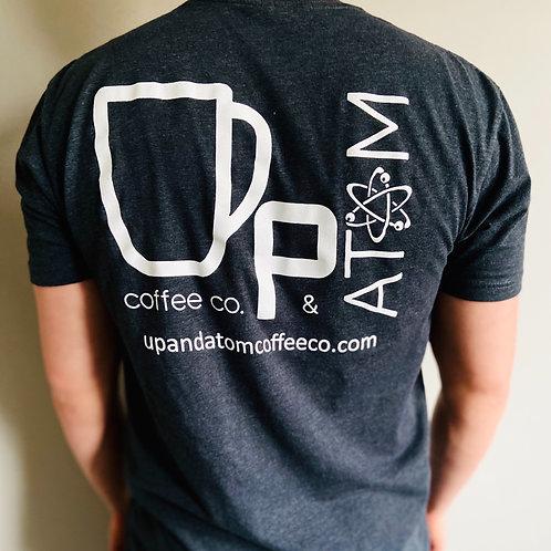 UP & ATOM COFFEE CO TSHIRT