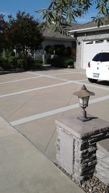 Sand finish, two color seperation