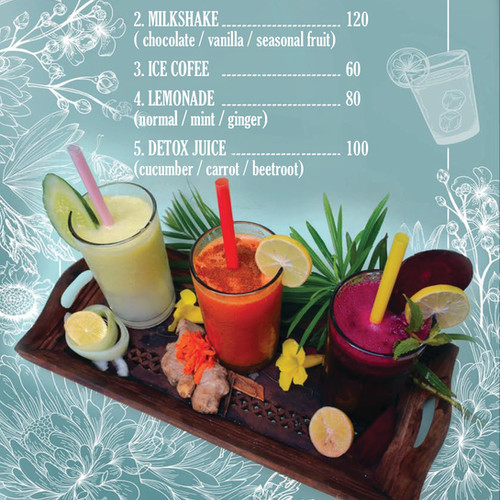 Delicious and healthy drinks