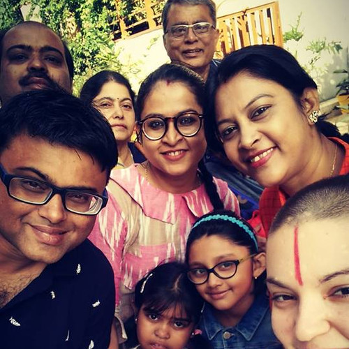 Nitin and Family