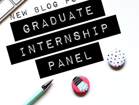 Graduate Internship Panel