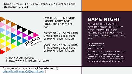 PRISM flyer for Game Night Oct Nov Dec.jpg