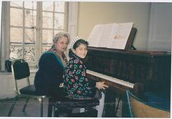 Schola Cantorum 1998 piano class