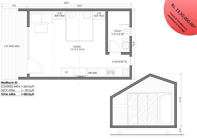 modroom xl suite room modular cottage
