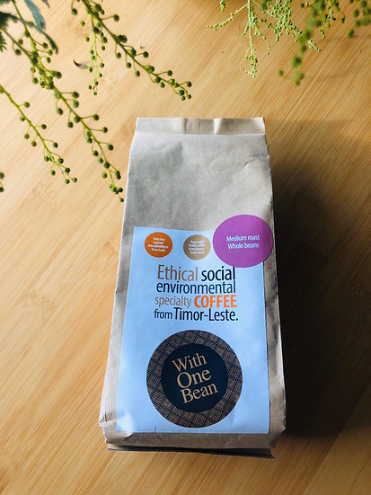 Coffee - Medium Roast Whole Beans 250g