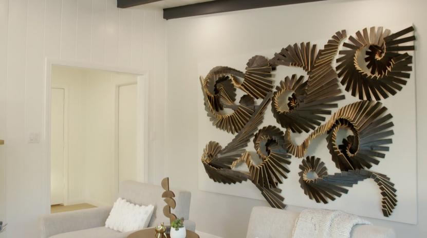 Custom Wooden Wall Sculpture