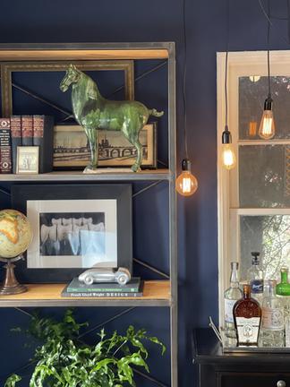 Shelf and Lighting