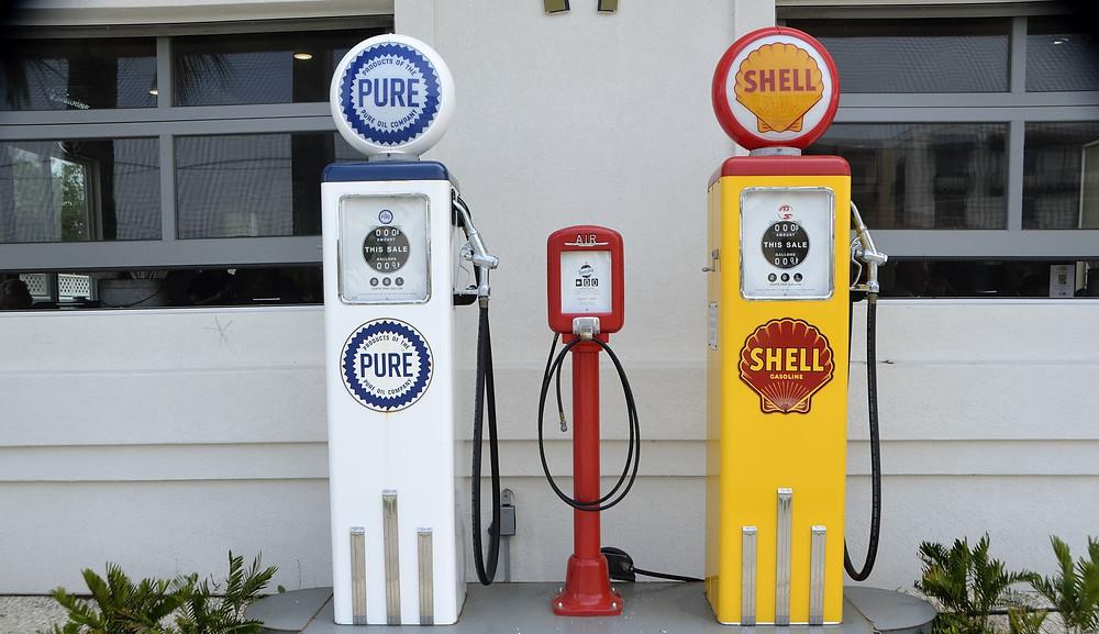 Station d'essence