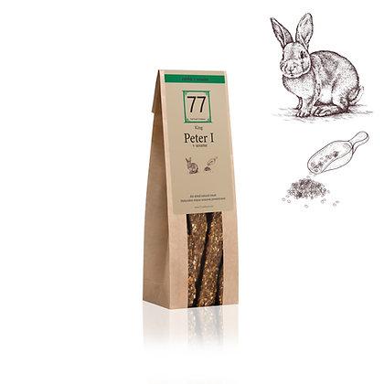 Peter I+ Stripes z suszonego królika z sezamem