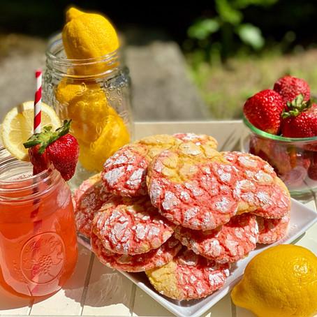 Delicious and Easy Pink Lemonade Cookies!