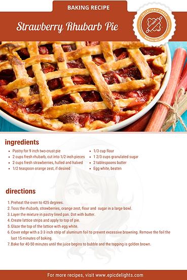 Copy of Strawberry Rhubarb Crisp Recipe.
